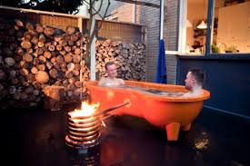 Wood Fired Bathtub Portable Wood Fired Tub From Holland Perfect For Off The Grid