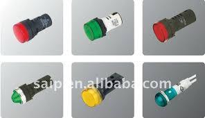 24vdc led indicator light 22mm series signal l indicator light 24v dc 220v ac ad22 22