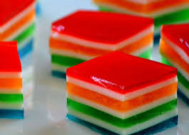 rainbow jello cubes recipe