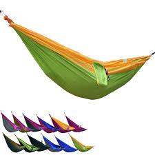 Hammock Hangers Portable Parachute Nylon Fabric Outdoor Travel Camping Hammock