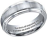 engraving on wedding rings engrave your wedding band free