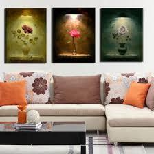 discount vase flowers canvas wall art 2017 vase flowers canvas