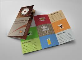 one sided brochure template 20 food brochure templates free psd eps ai format