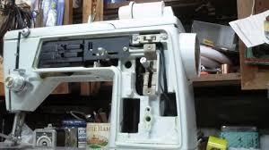 singer 620 touch u0026 sew sewing machine repair pt 1 youtube