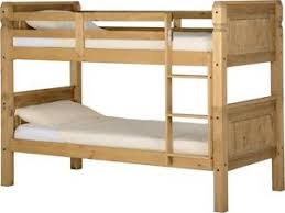 Bedroom Bedroom Furniture Next Day by Mexican Pine Corona 3 U0027 Bunk Bed Bedroom Furniture Free Next Day