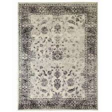 Beige And Gray Area Rugs Oriental Area Rugs Rugs The Home Depot