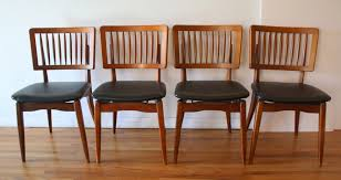 Stakmore Folding Chairs Vintage Mid Century Modern Dining Chair Set By Stakmore Picked Vintage