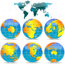 Free Vector World Map by World Map And Globes Vector Image 4507 U2013 Rfclipart