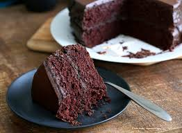 vegan chocolate cake with chocolate peanut butter ganache vegan