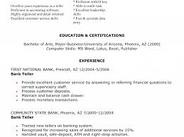 download bank teller resume sample haadyaooverbayresort com