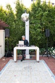 vibrant fiesta backyard wedding reception u2014 wotp