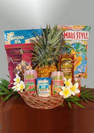 Snack Basket Delivery Maui Gift Baskets Floral Arrangements Birthday Cakes Balloon