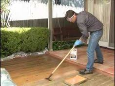How To Clean Patio Slabs Without Pressure Washer How To Clean A Wood Deck Without A Power Washer Decking Clean