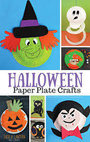 Crafts For Kids For Halloween - halloween paper plate crafts for kids easy peasy and fun