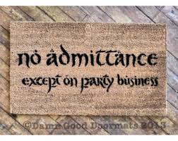 business door mat etsy
