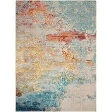 Abstract Area Rugs Abstract Area Rugs Rugs The Home Depot