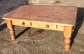 Coffee Tables With Drawers by Antique Square Pine Coffee Table Coffee Addicts