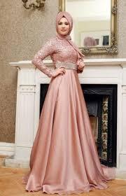 model baju 50 model baju brokat muslim dari dress gamis hingga gaun pesta