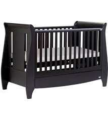 Sleigh Cot Bed Tutti Bambini Lucas Sleigh Cot Bed U0026 Drawer Espresso Direct2mum