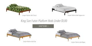 size futon designing the master bedroom with king size futons