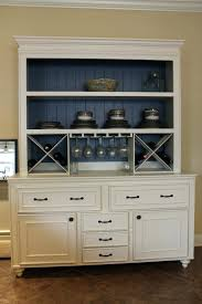 Distressed White Kitchen Hutch Wine Rack White Sideboard With Wine Rack Full Size Of Unit In