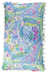 Lilly Pulitzer For Starbucks Amazon Com Lilly Pulitzer 161914 Pillow Medium Mermaid Home