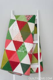 scrappy triangle quilt u2013 the christmas one triangle quilts the