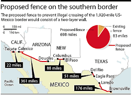 map usa mexico border mapping the material surplus along the us mexico border musings