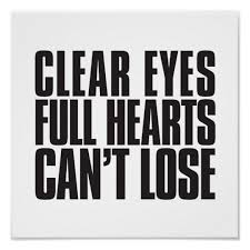clear hearts can t lose football poster zazzle com