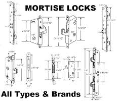 Patio Door Mortise Lock Replacement Patio Door Replacement Locks Patio Door Parts Images Doors Design