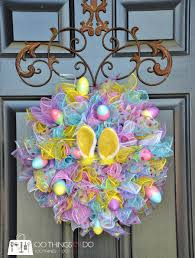 easter wreath easy easter wreath using dollar store items 100 things 2 do