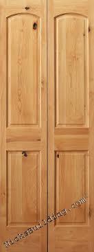 Pine Bifold Closet Doors Alder Interior Wood Doors