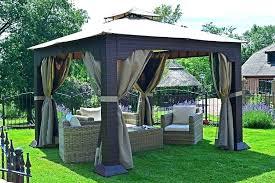 Outdoor Patio Gazebo 12x12 Backyard Patio With Gazebo Patio With Wood Gazebo And