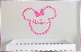 beautiful minnie mouse wall decals minnie mouse wall decals beautiful minnie mouse wall decals