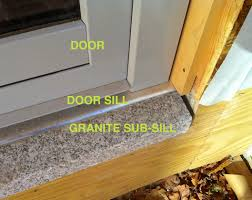 Door Thresholds For Exterior Doors Accessible Door Sill Detail 363 House