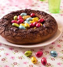 cuisine de paques gâteau nid de pâques les meilleures recettes de cuisine d ôdélices