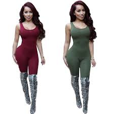 womens rompers and jumpsuits backless jumpsuit tank top romper bodysuits plus size