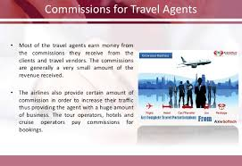 How do online travel agents earn money from flight ticket booking