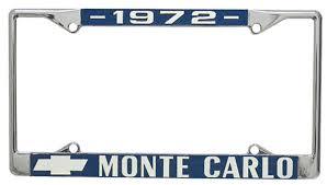 lsu alumni license plate restoparts license plate frame custom monte carlo opgi
