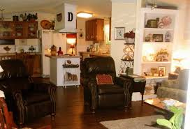 extreme manufactured home remodel living room 4 double wide