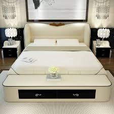 Storage Bedroom Furniture Sets Bedroom Furniture Sets Modern Leather Queen Size Storage Bed Frame