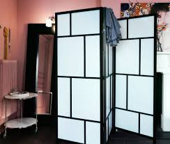 ikea screen panel dividers with modern style and warm color ideas