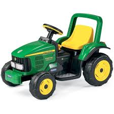 perego cars peg perego john deere power pull 6v kids ride on tractor u2013 kids