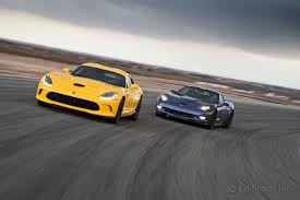 corvette vs viper 2013 dodge srt viper vs 2012 chevrolet corvette zr1 the chicago