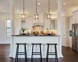 kitchen islands with columns kitchens with columns trendy design ideas 17 kitchen ideas