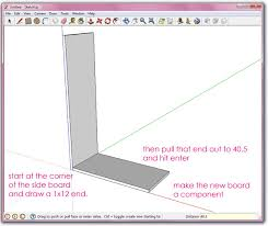 tutorial google sketchup 7 pdf google sketch up basics ana white woodworking projects