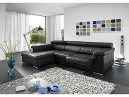 prix canap conforama canapé d angle fixe gauche 4 places arpegio coloris noir prix promo