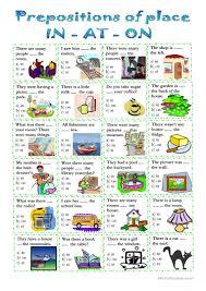 prepositions of place worksheet free esl printable worksheets