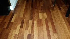 different hardwood floors on each level