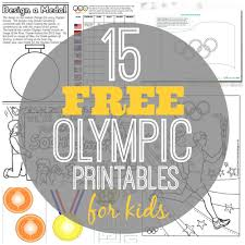 15 free olympic printables for kids olympics free and
